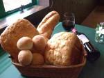自家製パンもあります