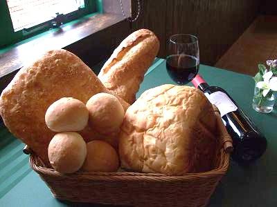 パンがいろいろ