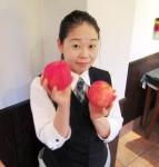 お待たせ致しました~♥ アップルパイの季節ですよっ(^O^)/
