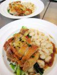 鶏もも肉のコンフィー 白インゲン豆の煮込み添え