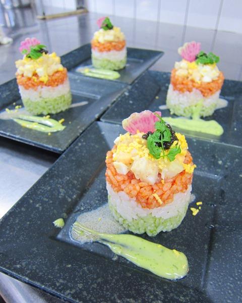 シェフ作 ひな祭りのお寿司