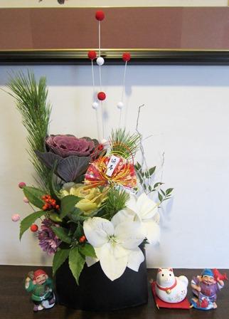 2018お正月の花